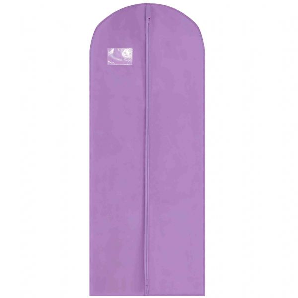 Purple Thick Long Coat Gown & Dress Cover / Carrier